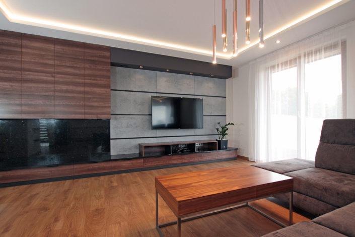 cieply nowoczesny salon
